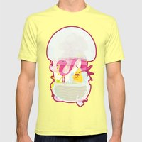 Runtime Terror  Mens Fitted Tee Lemon SMALL