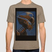 XA-82 Mens Fitted Tee Tri-Coffee SMALL