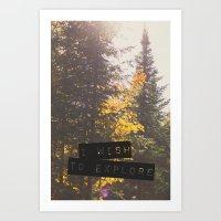 I wish to explore Art Print