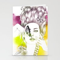 Butterfly Lady Stationery Cards