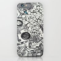 iPhone & iPod Case featuring Black/White #2 by The Bun