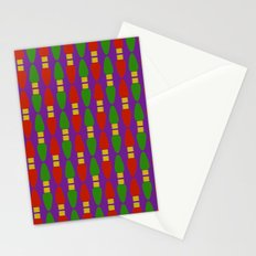 Bulb Wave Royal Stationery Cards