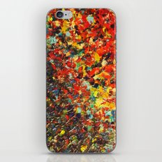 END OF THE RAINBOW - Bold Multicolor Abstract Colorful Nature Inspired Sunrise Sunset Ocean Theme iPhone & iPod Skin