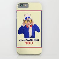 iPhone & iPod Case featuring NSA Prism by Salmanorguk