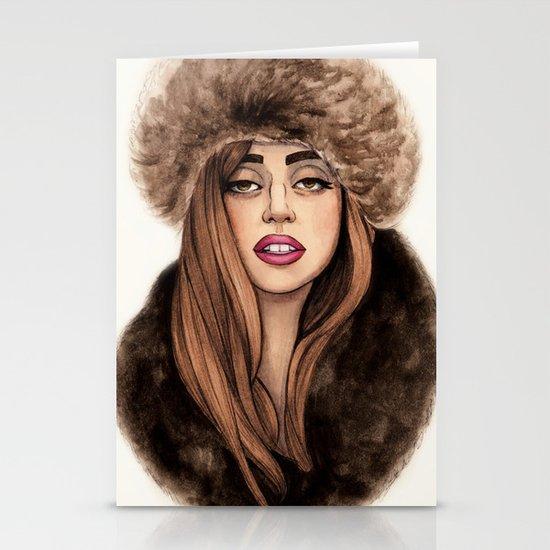 Russian Princess Stationery Card