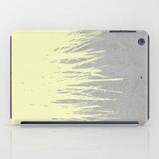 Concrete Fringe Yellow iPad Case