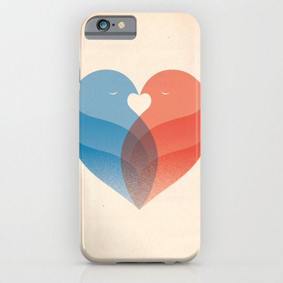 Lovebirds iPhone & iPod Case