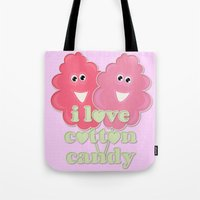 Cute Cotton Candy Tote Bag