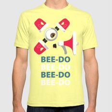 Bee-Do Bee-Do SMALL Mens Fitted Tee Lemon