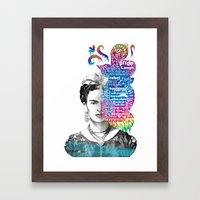 Frida Kahlo -  Framed Art Print