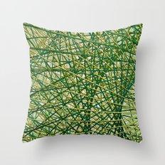 Sphere-o-let Throw Pillow