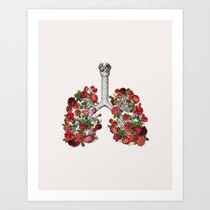 L&R   Art Print