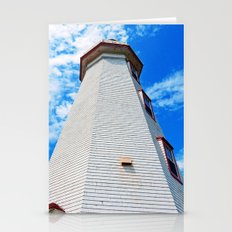 Lighthouse Reaches the Sky Stationery Cards