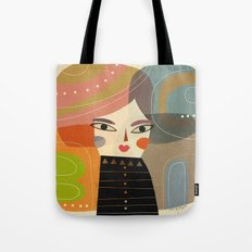 SQUARE HAIR Tote Bag
