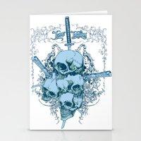 Katanas Stationery Cards