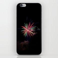 Star of Fireworks iPhone & iPod Skin