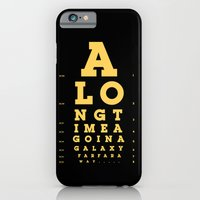 iPhone & iPod Case featuring Jed Eye Chart by David Schwen