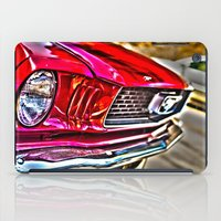 Mustang on Hollywood Hills iPad Case