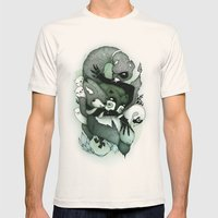 Nightmare Mens Fitted Tee Natural SMALL