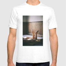 Naked Feet Mens Fitted Tee White SMALL