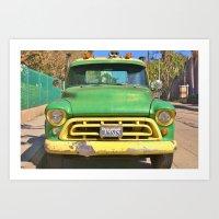 Buck Truck Art Print