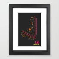 LAS Framed Art Print