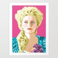 Sa Majesté La Reine Art Print