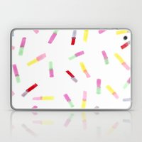Happy Capsules Laptop & iPad Skin