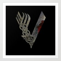Vikings Art Print