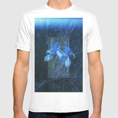 Iris on Film White SMALL Mens Fitted Tee