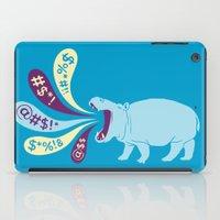 Hippopottymouth iPad Case