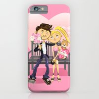 iPhone & iPod Case featuring Valentine Couple by escova