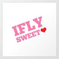 IFLY Sweetheart Art Print