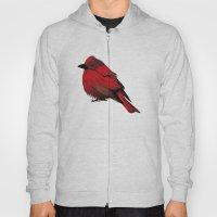 Little Red Bird Hoody