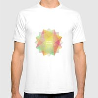 Dreams In Bloom Mens Fitted Tee White SMALL