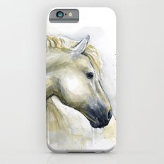 Horse Watercolor Painting | Animal Illustration iPhone 6s Slim Case