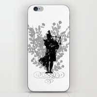 Flower of Scotland iPhone & iPod Skin