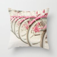 Sweet Rides Throw Pillow