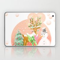 Reindeer Before Christmas Laptop & iPad Skin