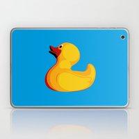 Pop Art Duck Laptop & iPad Skin