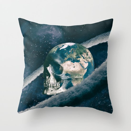 The Old Traveller Throw Pillow