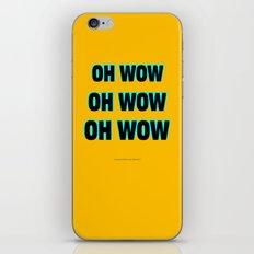 OH WOW #1 iPhone & iPod Skin