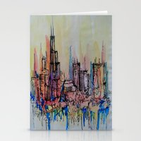 chicago Stationery Cards featuring Chicago by silvsstang