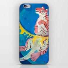 Happy Tiger iPhone & iPod Skin