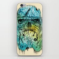 Storm Zombie iPhone & iPod Skin