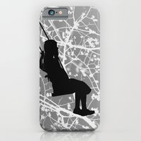 iPhone & iPod Case featuring The swing by Anna Brunk