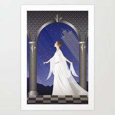 Deco Leia (12x18) Art Print