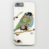 Cafe Swirly Bird 4 iPhone 6 Slim Case