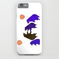 A Sleepy Bear Party iPhone 6 Slim Case