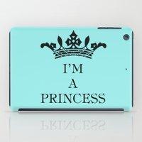 I'm a princess iPad Case